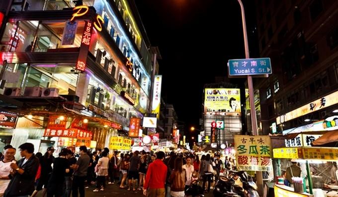 一中街商圈夜市