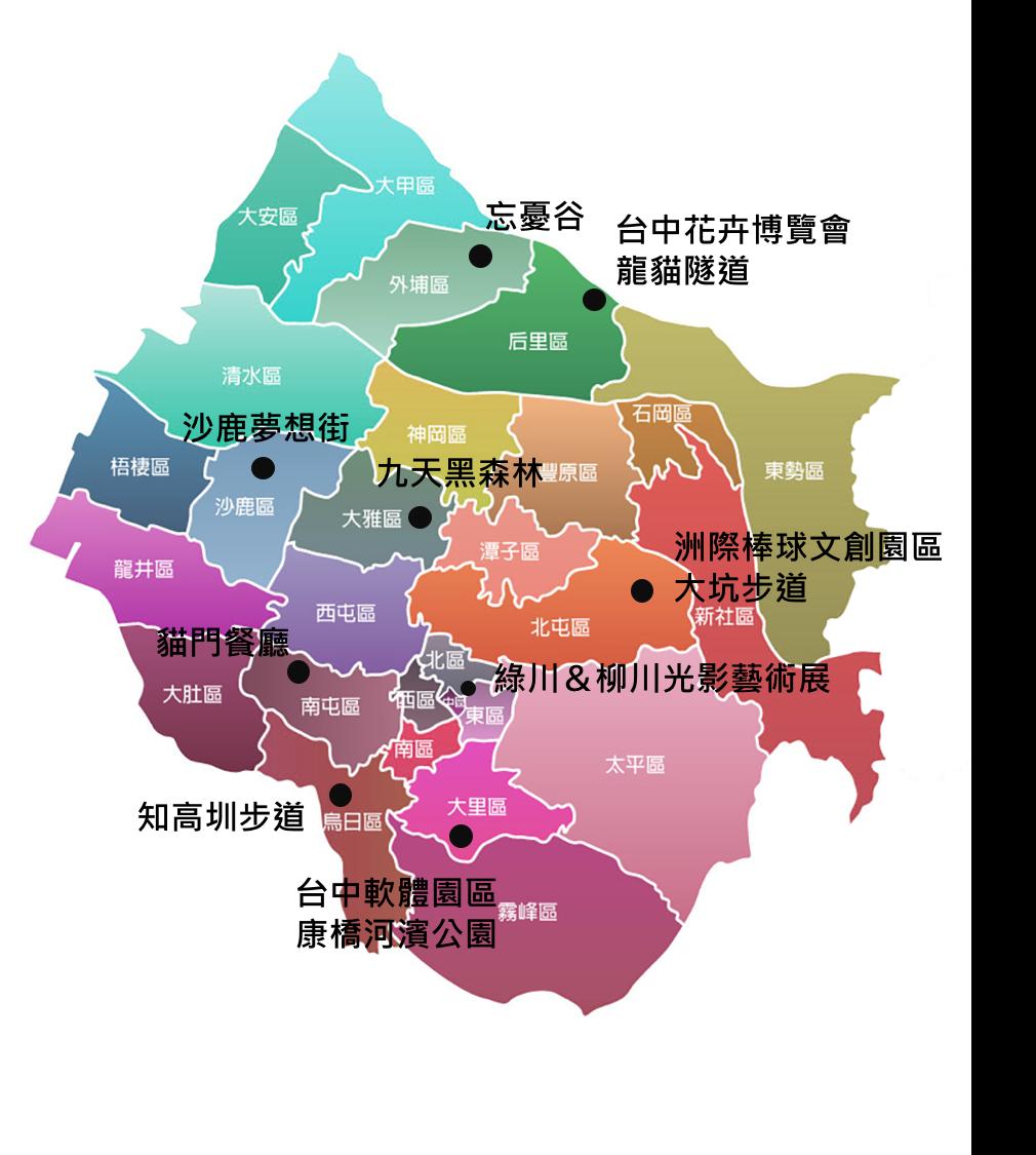 台中市景點